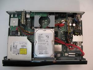dreambox dm8000 inside