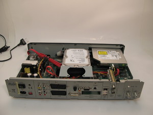 dreambox dm8000 inside back