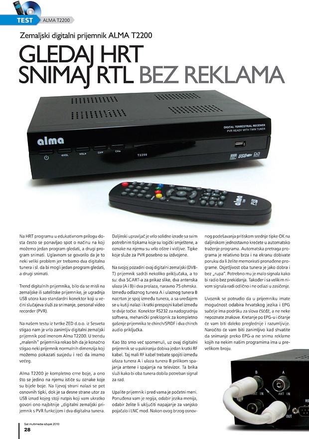DVB-T prijemnik ALMA T2200 1