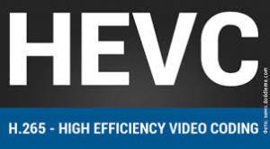 HEVC (H.265) standard 1