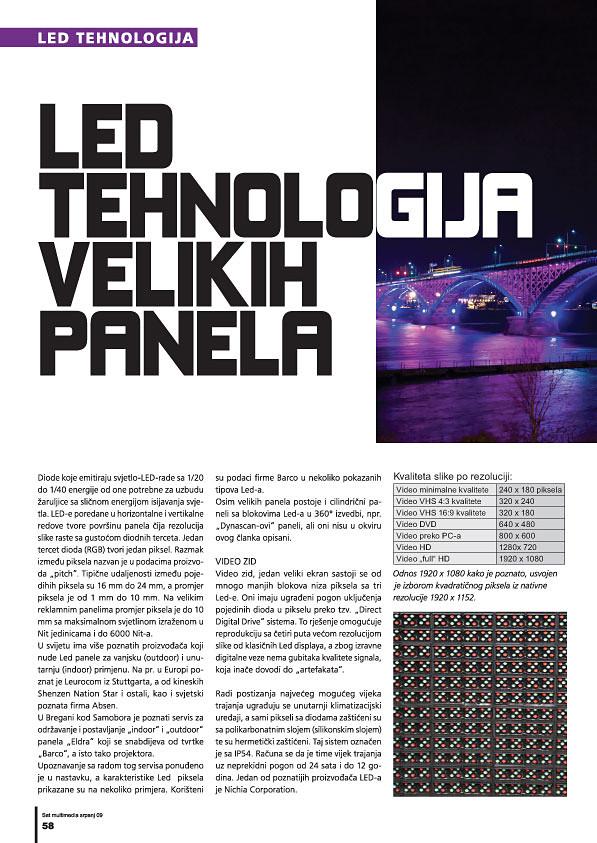 LED tehnologija velikih panela 1