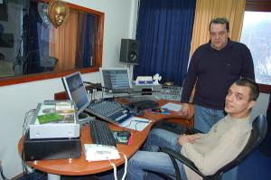 Pomorski Radio Bakar u studiu 1