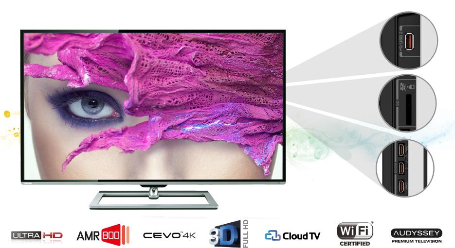 Toshiba UHD televizor 9