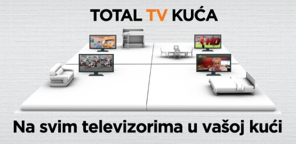 total tv kuca