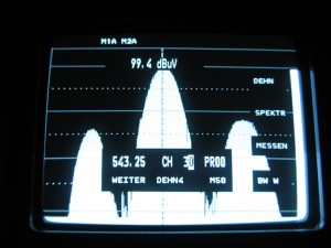 Prikaz 30 kanala na ulazu UHF 1