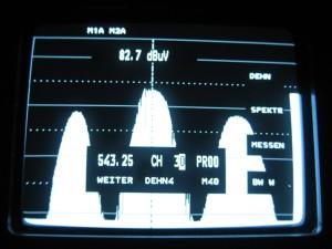 Prikaz 30kanala kroz 32 na UHF 1