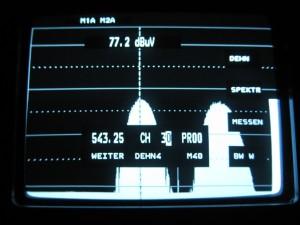 Prikaz 30 kanala kroz 32 na UHF 2