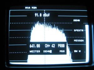 Prikaz DVB-T signala u obradi