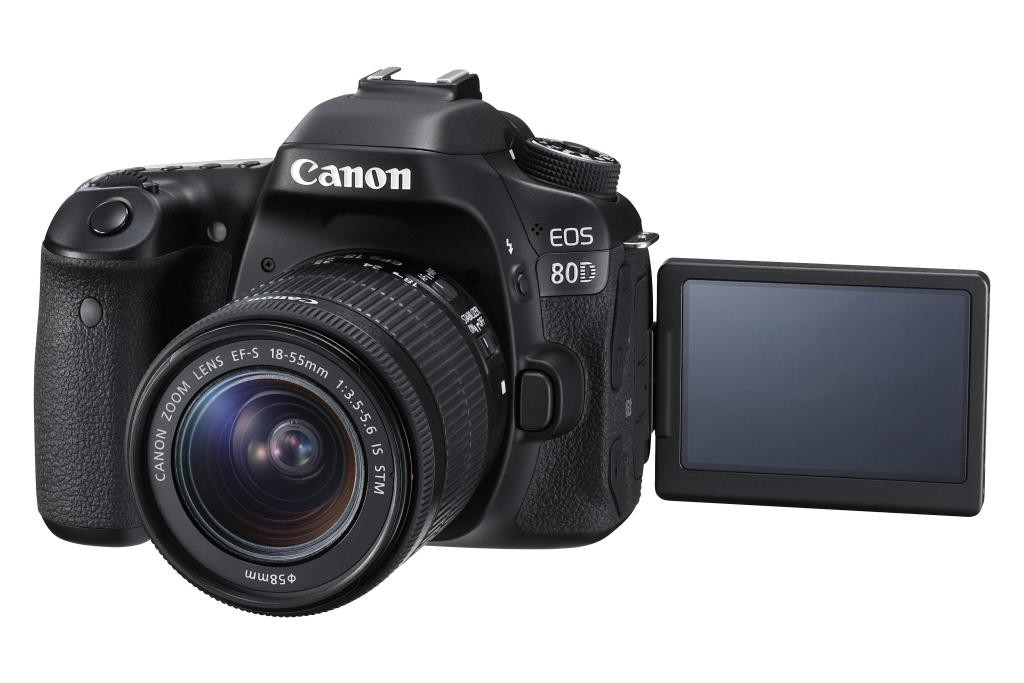 EOS 80D with LCD