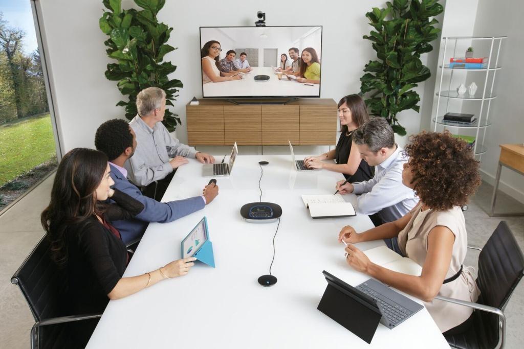 logitech video conferenc
