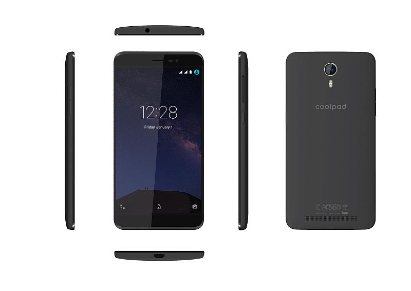 Coolpad Porto S gray 2