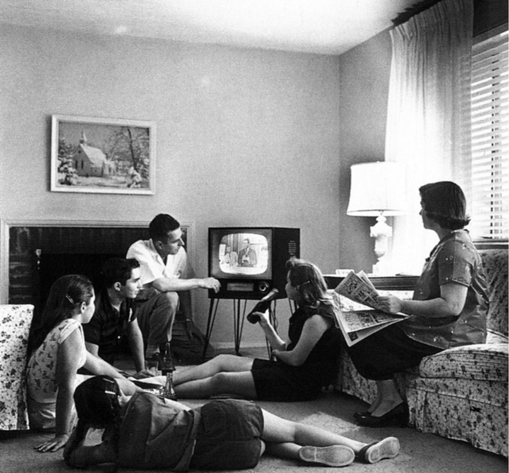 Televizija in Amerika