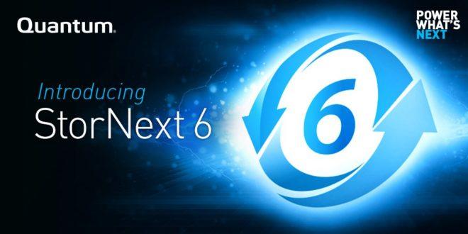 Quantum Highlighting New StorNext 6, Xcellis na IBC 2017