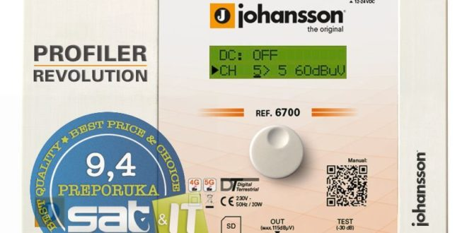Johansson 6700 Profiler Revolution – TEST