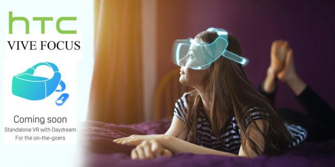 HTC pedstavio Vive Focus samostalni VR