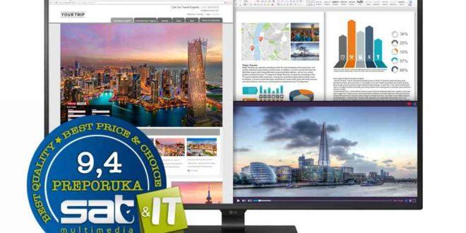 LG 43UD79 UHD 4K monitor – TEST
