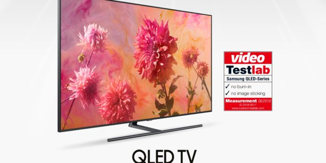 Samsung QLED TV bez burn-in problema