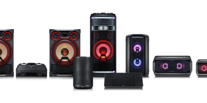 Predstavljanje linije audio proizvoda LG XBOOM na sajmu IFA 2018