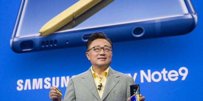 Predstavljen novi Samsung Galaxy Note9