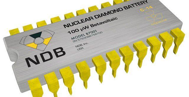 Nanodijamantska baterija (NDB)traje 28000 godina!
