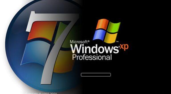 Milioni računara  koriste OS Windows 7 i XP